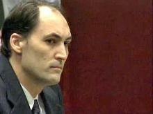 Brad Cooper sits in court during a Dec. 5, 2008, hearing in which prosecutors announced they do not plan to seek the death penalty. Cooper is charged with murder in the July 12, 2008, slaying of his wife, Nancy Cooper.