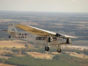 This rare, restored 1929 Ford 4-A-T-E Tri-Motor plane got hit by bullets during the Japanese surprise attack at Pearl Harbor in 1941 and later helped fight wildfires in Montana.