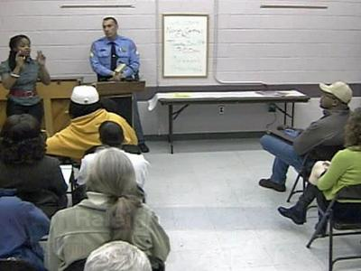 The family of a 16-year-old shot to death in southeast Raleigh attended a meeting Tuesday evening and asked for the community's help solving the crime and making the area safer.