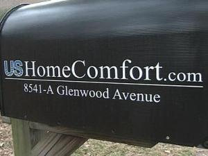 USHomeComfort is located at 8541-A Glenwood Ave. in Raleigh.