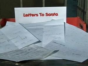 The postal service says it is not too late to send a letter to Santa, but you have to hurry.
