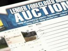 Foreclosure auction held in Raleigh