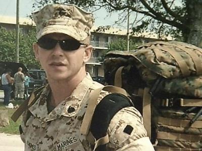 Marine Sgt. Mark Adams