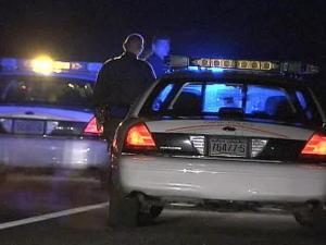 State troopers stopped an SUV along Interstate 40 West at the Durham Freeway on Saturday, Jan. 3, 2009, after Cary police put out a BOLO for a vehicle used in the armed robbery of the Crazy Fire Grill on Buck Jones Road.