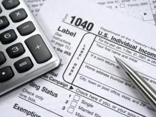 Generic Tax Form Image