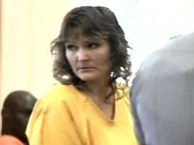 Sandra McMillan pleads not guilty in the June 2008 death of her 13-year--old stepson, Tyler McMillan, who died after being tied to a tree for 18 hours.