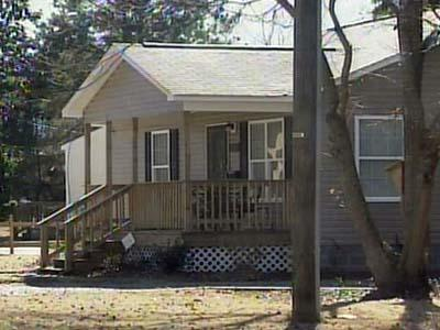 One of the Habitat for Humanity homes built in Hoke County.