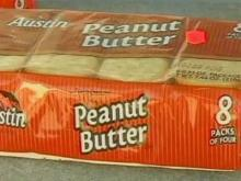 Peanut butter crackers tested at Cary plant