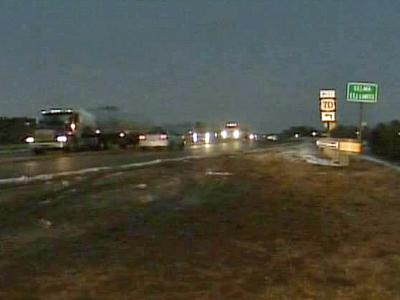 Drivers need to look out for black ice again overnight.
