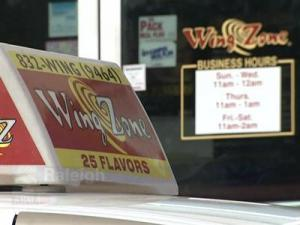 The Wing Zone on Hillsborough Street in Raleigh has been robbed twice in five weeks. Police arrested four men in connection with the latest robbery, which happened Jan. 25.