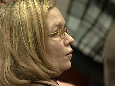 Novelist Kaye Gibbons appears in a Wake County courtroom on Jan. 26, 2009.