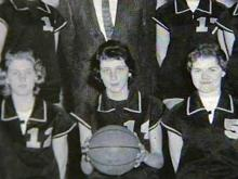 Kay Yow in high school