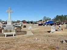 Yow burial 1/31/09