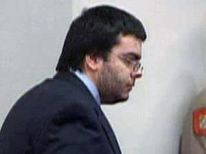 Alvaro Castillo, accused of killing his father and then trying to carry out a Columbine-style attack on his high school. appears in an Orange County courtroom on Feb. 5, 2009, for a bond hearing.