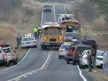 Dad charged in Wake school bus shooting