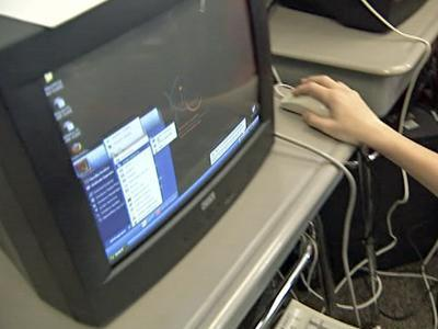 Lufkin Road Middle School students recently got a slew of free computers courtesy of the Kramden Institute.