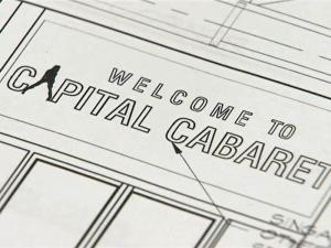 Plans for Capital Cabaret call for a two-story, 10,700-square-foot building with a main stage and several VIP rooms.