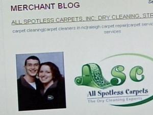 Thom and Joni Millage, the husband-wife team behind Garner's All Spotless Carpets, cut their print advertising and turned to MerchantCircle.com