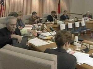 The Wake County delegation held its annual meeting Monday afternoon.