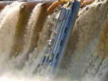 Boat plunges down Tar River dam