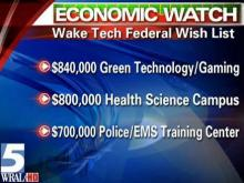 Wake Tech seeking federal help