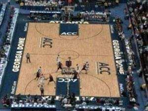An upper level view of the ACC tournament held at Atlanta's Georgia Dome March 12-15, 2009.