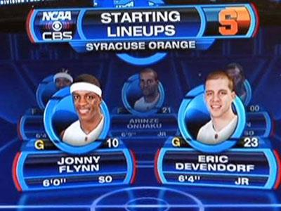 SportsMEDIA Technology Corp., based in Durham, provides graphics like these to networks carrying major sporting events.