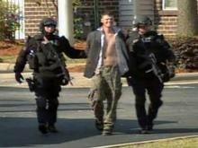 Web Only: Authorities arrest gunman