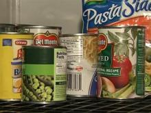 food bank items