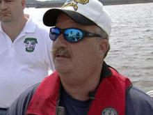 Allan Frazier, who owns a boat repair shop in Franklinton, is a volunteer member of the North Carolina Search and Rescue.