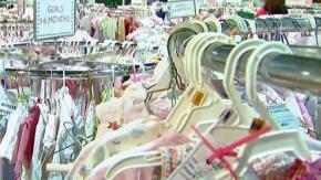 Stock up on kids' items at swap meet