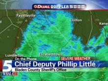 Bladen County Sheriff's Office Chief Deputy Phillip Little