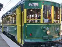 Charlotte trolley runs through history