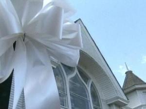 White ribbons representing symbols of hope now adorn the small town of Carthage to honor the victims of a nursing home massacre that has sent shockwaves through the town.