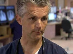 Dr. Matthew Harmody, of the Moore Regional Hospital