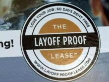 Legacy Crossroads is offering a layoff-proof lease program