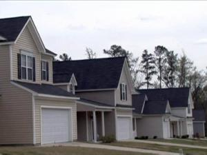 The Meadow Creek subdivision in southeast Raleigh is one of several affordable-housing development built by Downtown Housing Improvement Corp.