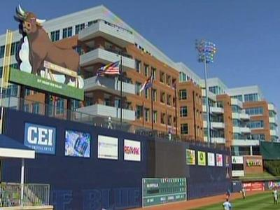 The Durham Bulls Athletic Park
