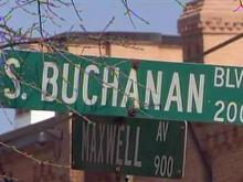 Maxwell Avenue, South Buchanan Boulevard