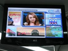 Raleigh, WRAL and the CBC New Media Group on Tuesday launched the first public deployment of mobile digital TV in a public transit bus.