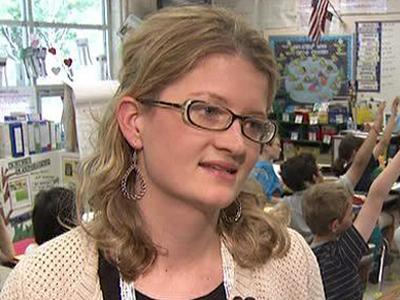Estes Hills Elementary School teacher Liz Coleman