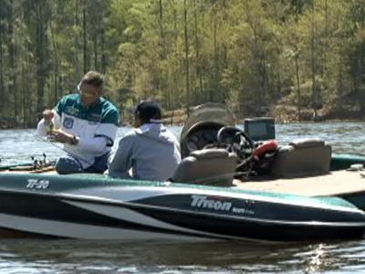 The Warriors on the Water tournament was held April 17, 2009, on Jordan Lake.
