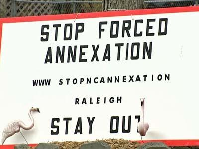 The Raleigh City Council voted in January to forcibly annex the Berkshire Downs neighborhood.