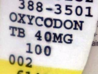 OxyContin or Oxydone is a popular pain killer. Pharmacist Rad Rich, who owns The Medicine Shoppe in Fayetteville, said these painkillers are in high demand among drug dealers.
