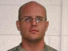 Sgt. Jason Lightfoot, 30, of Beaumont, Texas, died after being hit by a Jeep walking walking along the northbound shoulder of the All American Freeway, near the Cliffdale Road exit, around 3 a.m. Friday, April 24, 2009. He served with the 3rd Special Forces Group (Airborne) at Fort Bragg. (Photo courtesy of the U.S. Army Special Forces Command (Airborne) Public Affairs Office)