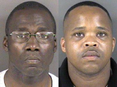 Sgt. Darryl Eugene Coulter Sr., left, and Sgt. Alfonzo Devone Whittington Jr.