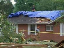 Johnston County hit by severe weather