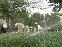 Cary studies how to get greener lawns with less water