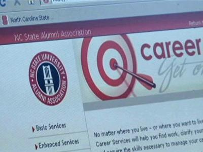 The North Carolina State University Alumni Association Web site provides job search advice.