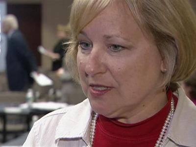 Wake County school board member Lori Millberg said that despite $46 million in stimulus money, the district's budget situation is still dire.